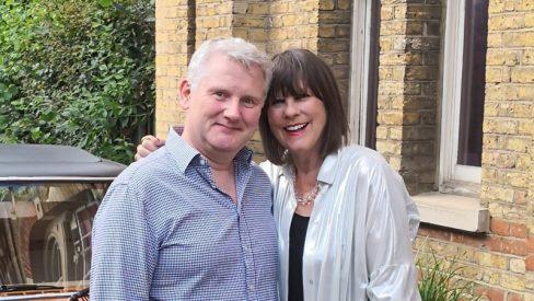 Richard Edwards with Judy Matheson
