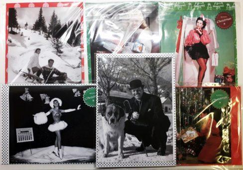 Cinema Museum Christmas cards set 1