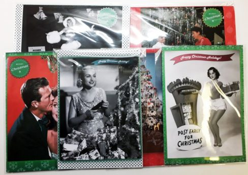 Cinema Museum Christmas cards set 2