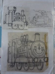 Ivor the Engine drawings