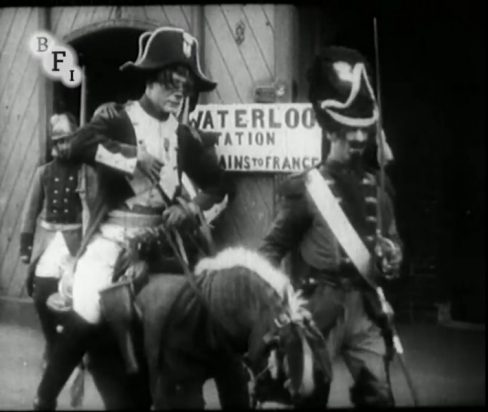 The Adventures of Pimple: The Battle of Waterloo (1913)